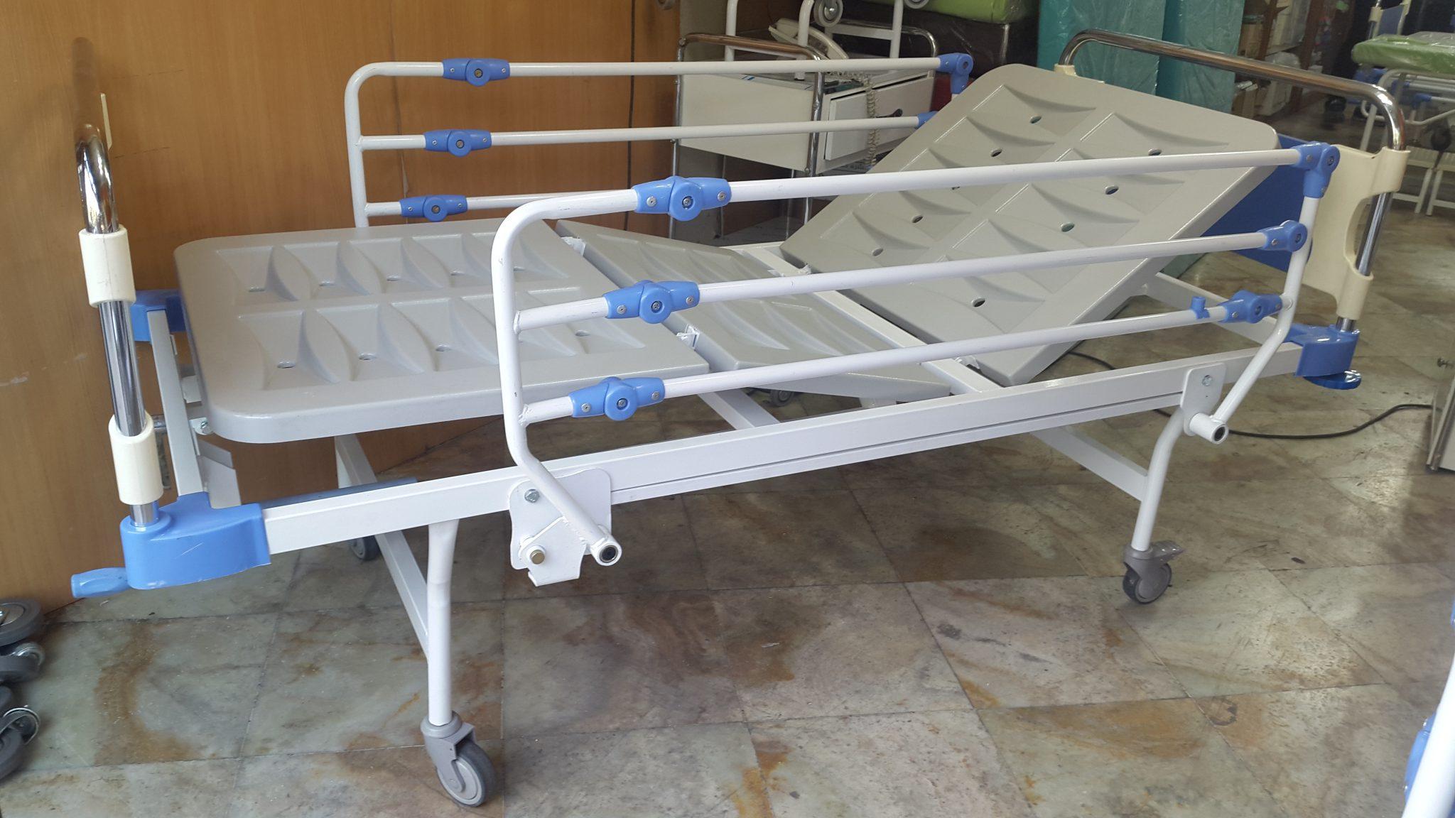 تخت بیمارستانی سه شکن فایبر S40