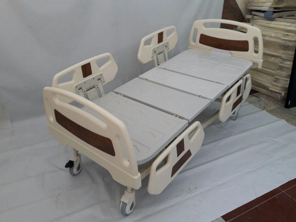 تخت بیمارستانی برقی حفاظ چهار تکه مدل A95