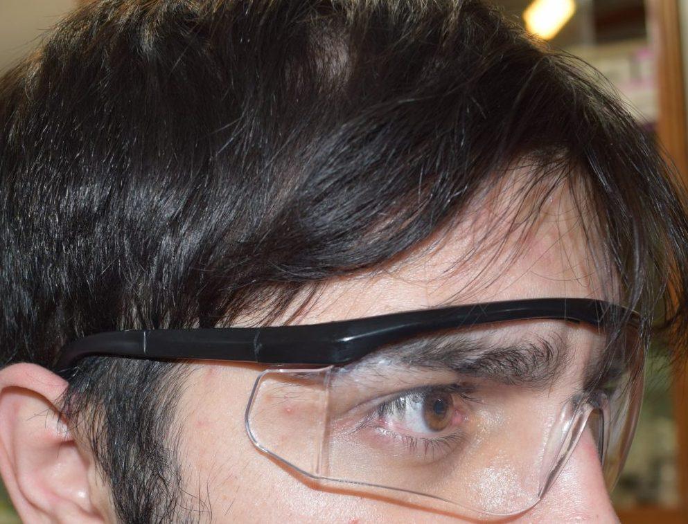 عینک محافظ چشم پزشکی ۵۰ عددی