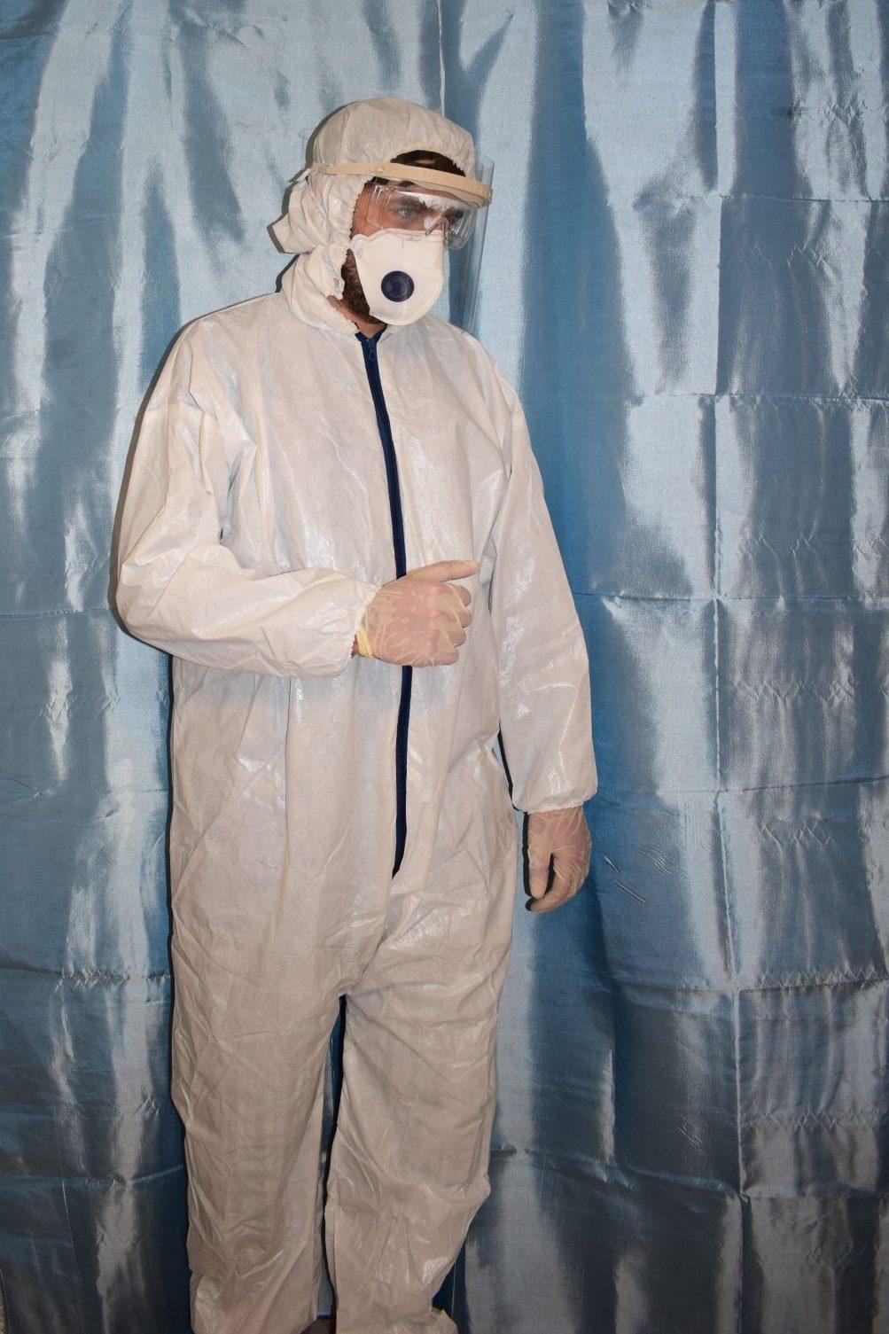 لباس ایزوله بیمارستانی