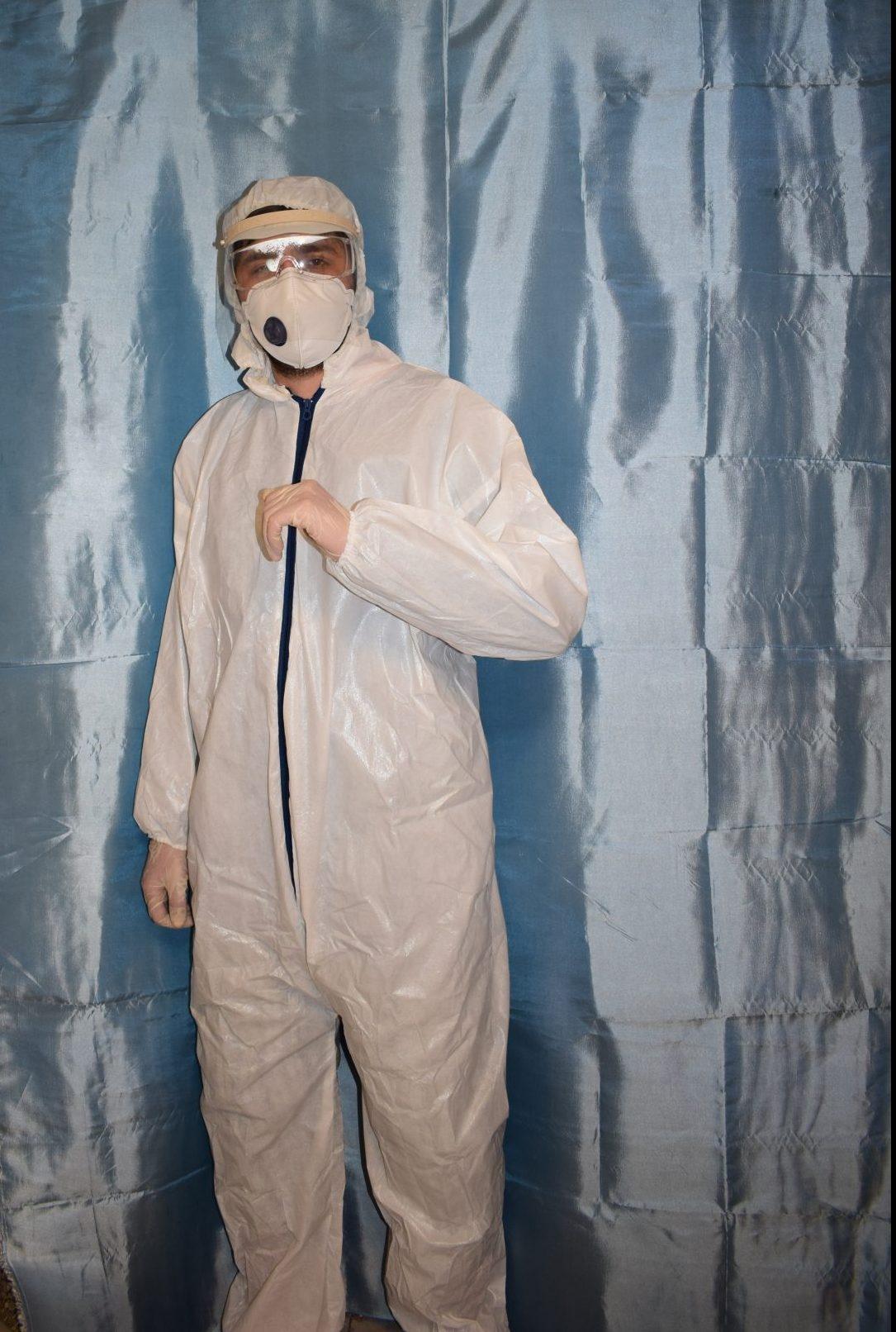 لباس ایزوله بیمارستانی ایرانی ۲۰ عددی