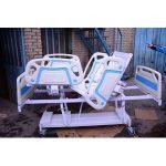 تخت بیمارستانی برقی حفاظ چهار تکه مدل A91