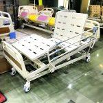 تخت بیمارستانی برقی رویه فلزی مدل A90