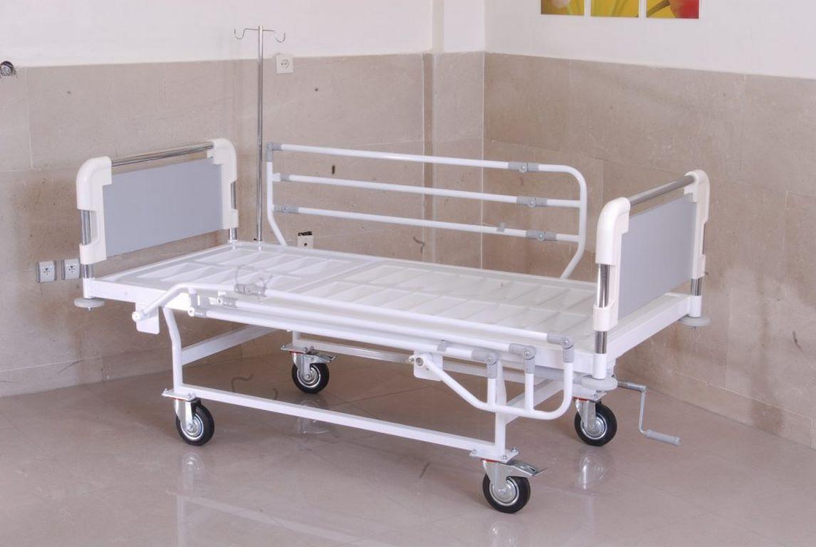 تخت-بیمارستانی یک شکن رویه فایبر