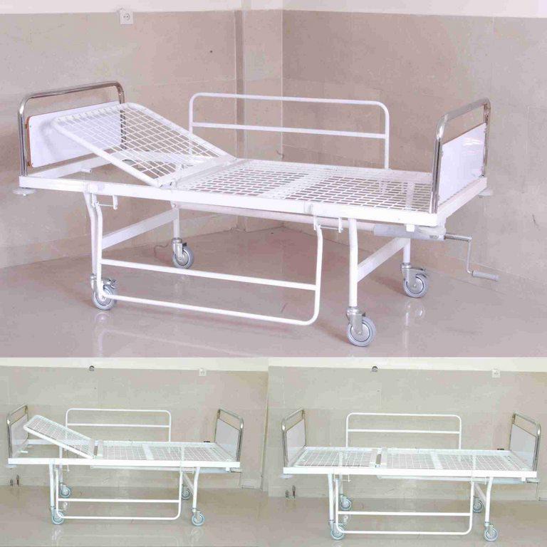 تخت بیمارستانی یک شکن